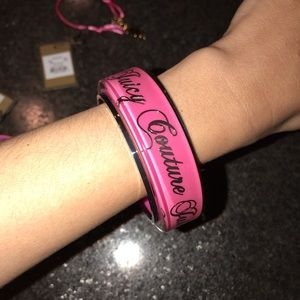 Juicy Couture Jewelry - Juicy Couture Pink Bracelet Set